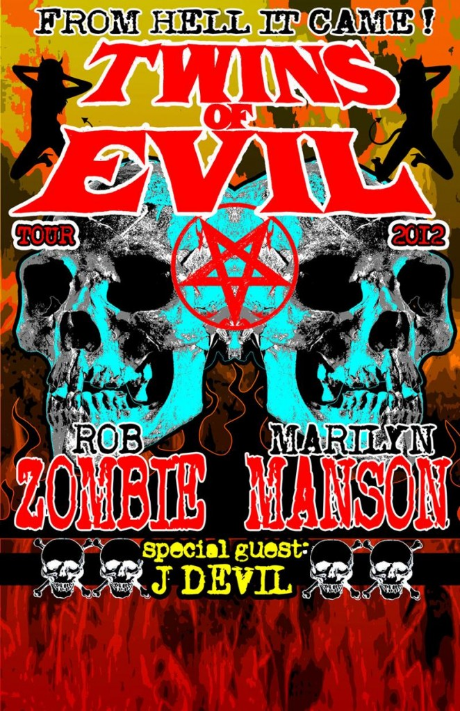 Rob Zombe & Marilyn Manson Tour