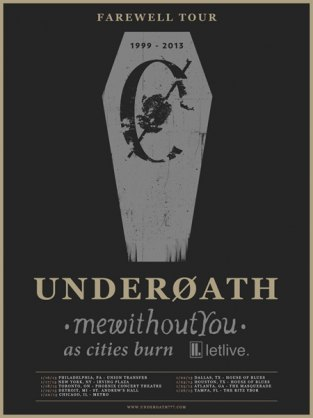 Underoath Farewell Tour