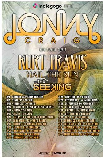 Jonny Craig Tour