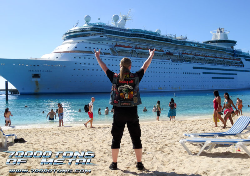 My Experience on the 70,000 Tons Of Metal cruise – Alonzo ...