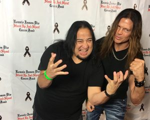 Chris and Dino Metal Masters